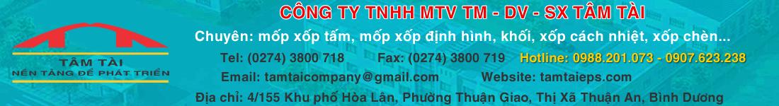 Công Ty TNHH MTV TM - DV - SX Tâm Tài
